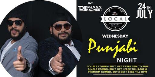 Wednesday Punjabi Night - Dj Sunny & Harneet