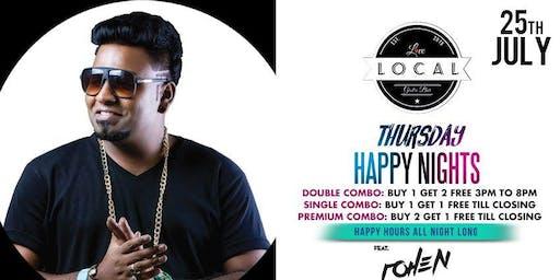 Thursday Happy Night - Dj Rohen