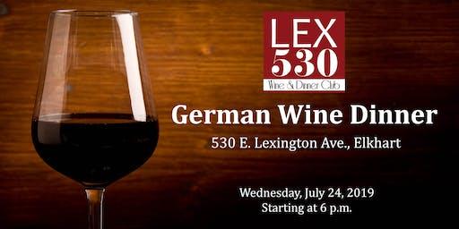 LEX 530 German Wine Dinner