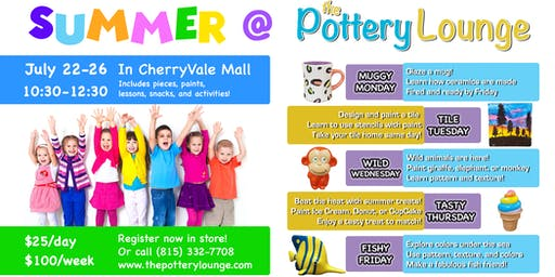 Summer @ The Pottery Lounge!