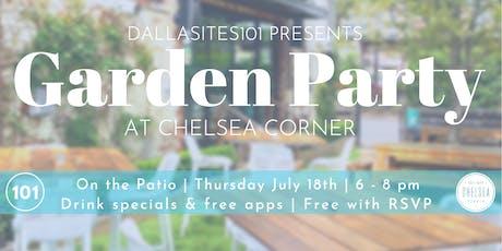 Garden Party at Chelsea Corner tickets