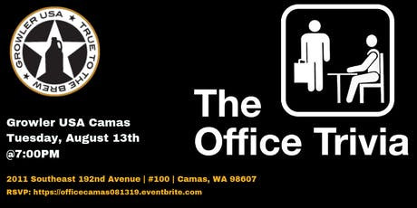 The Office Trivia at Growler USA Camas tickets