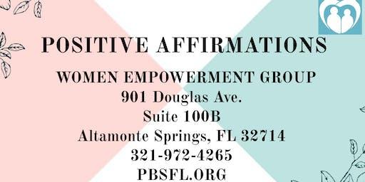 POSITIVE AFFIRMATIONS: Women Empowerment Group
