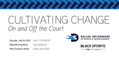 Cultivating Change On and Off the Court tickets