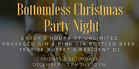 Bottomless Christmas Party Night tickets