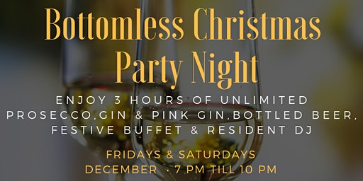 Bottomless Christmas Party Night