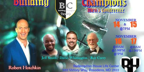 2019 Building Champions Men's Conference tickets