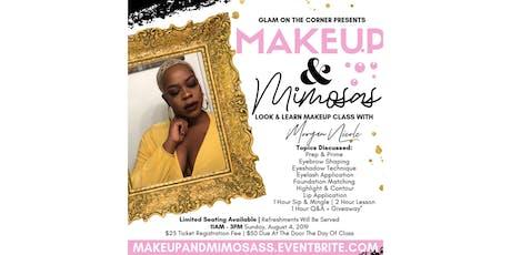 Makeup & Mimosas Look N Learn tickets
