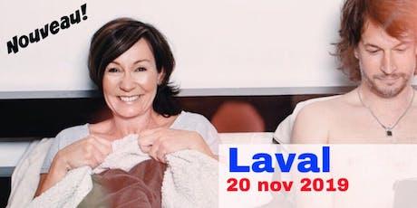 Laval 20 nov 2019 Le couple - Supplémentaire billets