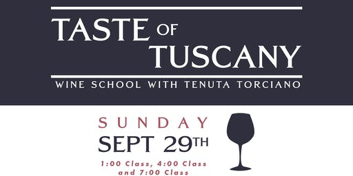 Taste of Tuscany Wine School