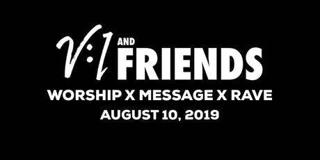 V1 & Friends 2019 tickets
