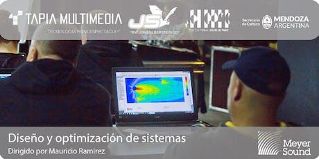 Diseño y optimización de sistemas | Mendoza 2019 entradas