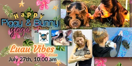 Happy Piggy & Bunny Yoga-For Charity: Luau Vibes! at Panther Island Brewing tickets