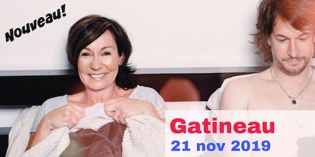 Gatineau 21 nov 2019 Le couple - Supplémentaire billets