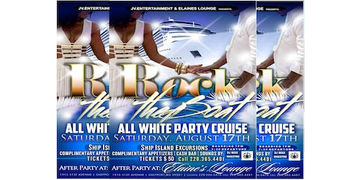 ROCK THE BOAT WHITE LINEN & SANDALS PARTY CRUISE