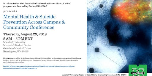 Mental Health and Suicide Prevention Across Campus & Community Conference
