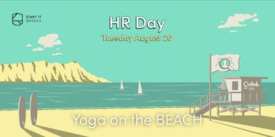 Yoga on the beach #HRday #sport #Startit@KBSEA