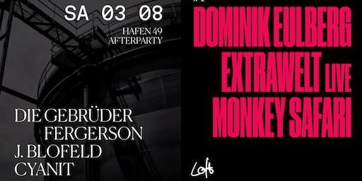 Dominik Eulberg, Extrawelt live, Monkey Safari im Loft