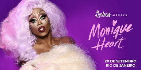 Realness com Monique Heart (RJ) ingressos