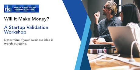 Will It Make Money? A Startup Validation Workshop tickets