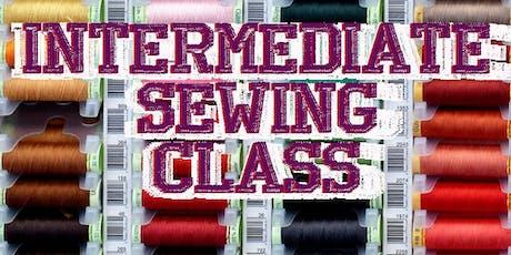 Intermediate Sewing 4 part Class tickets