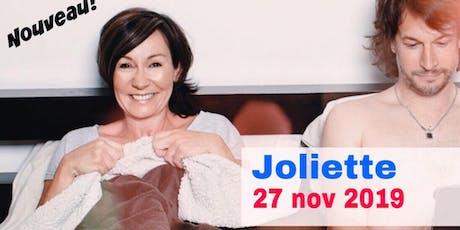 Joliette 27 nov 2019 Le couple - Supplémentaire billets