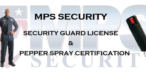 Guard Card & Pepper Spray Certification