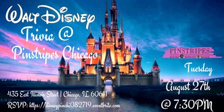 Disney Movie Trivia at Pinstripes Chicago tickets