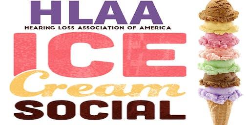 Hearing Aid Giveaway at the Hearing Loss Association Ice Cream Social!