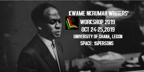 Kwame Nkrumah Writers' Workshop 2019 tickets