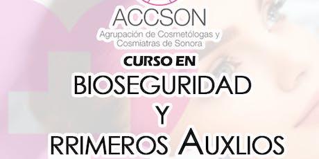 Bioseguridad y Primeros Auxilios - ACCSON tickets