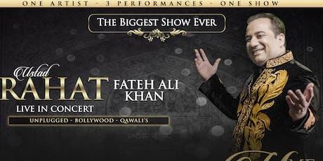 Ustad Rahat Fateh Ali Khan - Live in Concert tickets