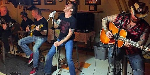 Members of Saving Abel ~ Live Acoustic Performance at The Bend!