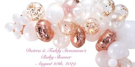 Deirra & Toddy Stevenson's Baby Shower tickets