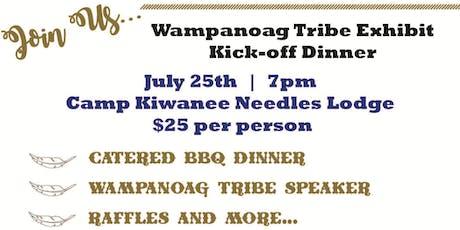 Wampanoag Museum Dinner Kick-off tickets