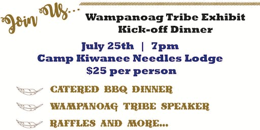 Wampanoag Museum Dinner Kick-off
