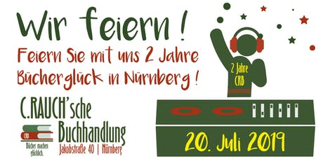 Wir feiern! 2 Jahre Bücherglück in der Jakobstraße Tickets