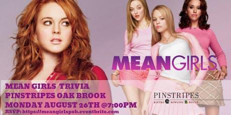 Mean Girls Trivia at Pinstripes Oak Brook tickets