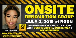 Onsite Renovation Group at Dee Adewunmi's 2nd Major...