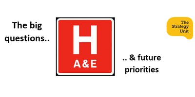 A&E- Big Questions and Future Priorities (1 day workshop)