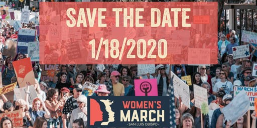 Women's March SLO 1/18/2020