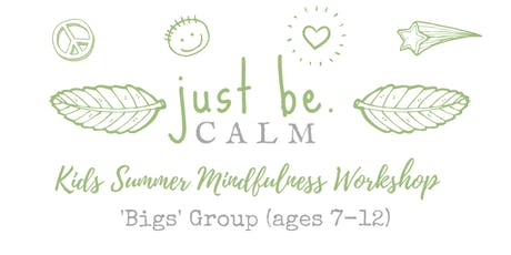 Big Kids Mindfulness & Meditation Summer Workshop (ages 7-12) tickets