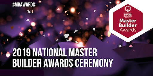 2019 National Master Builder Awards Ceremony
