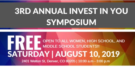 Annual Invest In You Symposium  tickets