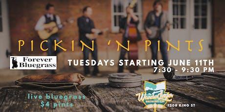 Pickin' N Pints - Tuesday Bluegrass & Pint Night tickets