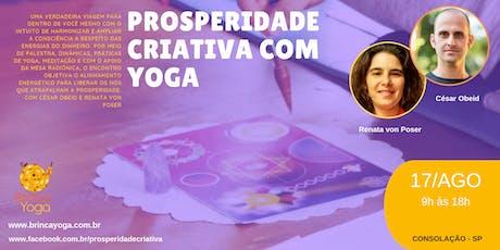 Prosperidade Criativa com Yoga ingressos