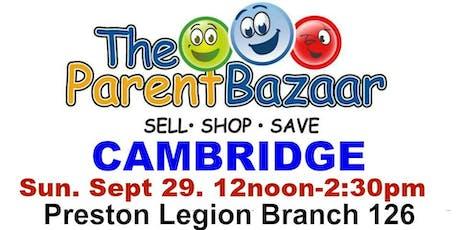 The Parent Bazaar tickets