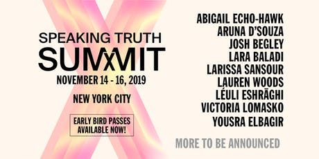 Speaking Truth | Creative Time Summit tickets