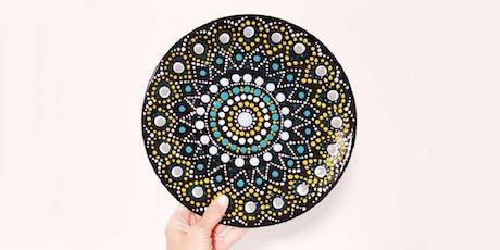 DIY Happy Hour at The Commune: Ceramic Mandala Plate tickets
