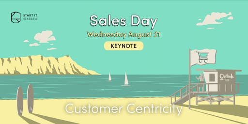Customer Centricity by Matthias De Clercq #SALESday #keynote #startit@KBSEA